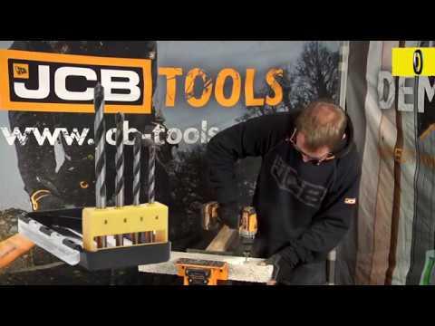 JCB Multi Purpose Drill Bit Set