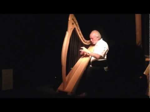 Amazing Celtic Harp performance by Luc Vanlaere