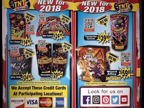 2018 TNT Fireworks Stand Flyer/Catalog! Mp3