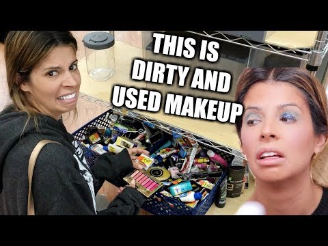 FULL FACE OF WALMART CLEARANCE MAKEUP | A MESS...