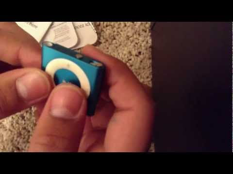 iPod Shuffle 5th Generation Blue Unboxing and Review