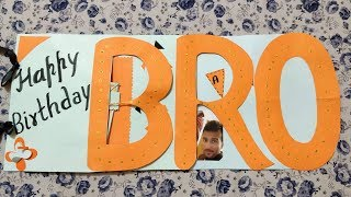 Special Handmade Birthday Gift For Brother | Handmade Gifts | RISHU GIFTS |