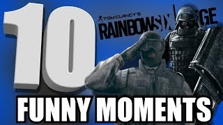 Why use Montagne?! (Rainbow Six Siege Funny Moments #10)