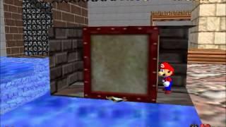 SM64 - Wet-Dry World Box Glitch