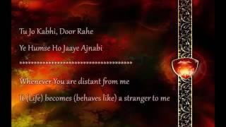 Baatein Ye Kabhi Na Lyrics   Arijit Singh   Khamoshiyan 2015