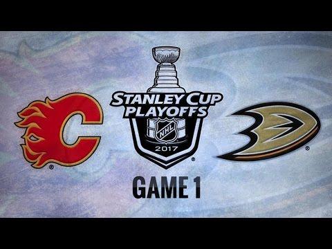 Calgary Flames Vs. Anaheim Ducks Game 1 | NHL Game Recap | April 13, 2017 | HD