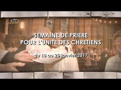 Mgr Jordy - Semaine pour l'unité des chrétiens 2017