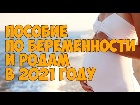 Пособие по беременности и родам в 2021 году