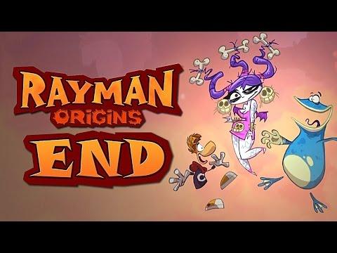 Совместное прохождение Rayman Origins 10 - Moody Clouds (Хмурые Облака) - ФИНАЛ ИГРЫ, ПОСЛЕДНИЙ БОСС