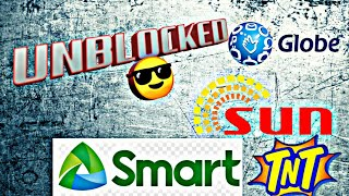 UNBLOCKING BLOCKED SIM TUTORIAL 101 (SUN, SMART, GLOBE, TNT)