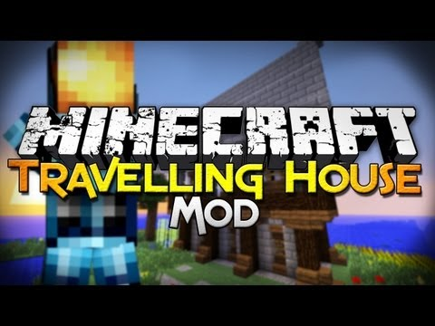 Minecraft Mod Showcase: Travelling House - Move Your Builds!