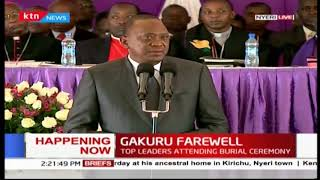 President Uhuru Kenyatta:We shall make sure that his visions and ideas are implemented