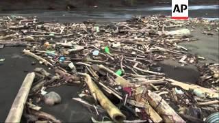 Dumped waste choking nation's waterways