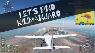 Flight Simulator 2020 - I went to Kilimanjaro today