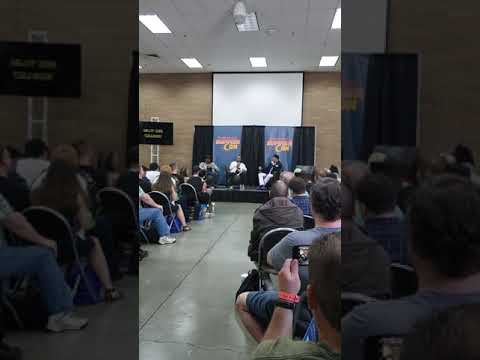 Billy and Corey Dee Williams panel at Washongton State Summercon