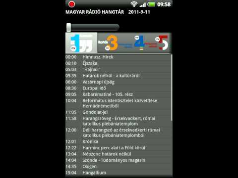Video of Magyar Rádió Hangtár