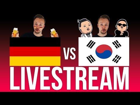 Germany vs South Korea Livestream 🔴 Fifa World Cup 2018