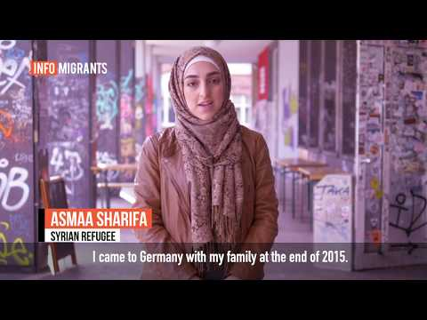 Asmaa came to Germany in 2015