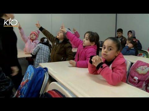 L'école Saint-Irénée pour les enfants à Erbil