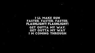 DJ Fresh feat. Ellie Goulding - Flashlight (Lyrics by LyricsCreator)