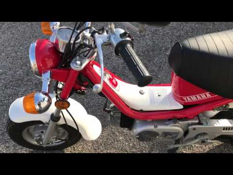 Yamaha Chappy 496 original miles