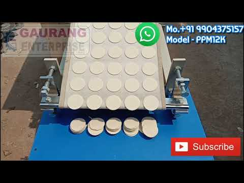 Gol Gappa Making Machine