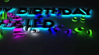 Happy Birthday Khaled