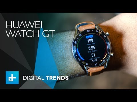 Huawei Watch GT - Hands On Review