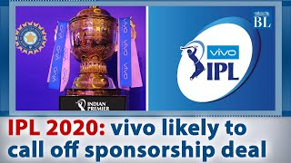 IPL 2020: Vivo likely to call off sponsorship deal