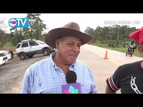 Inauguran segundo tramo de la carretera Nueva Guinea – Bluefields