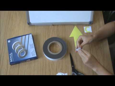 Magnetband in Anwendung