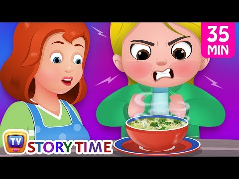 Cussly's Politeness + Many More ChuChu TV Good Habits Bedtime Stories For Kids