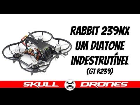 Um Drone Indestrutível! Diatone Rabbit NX 239 GTR