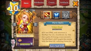 Double Evolved GunSlinger GamePlay Dungeons Raids Arena Castle Clash