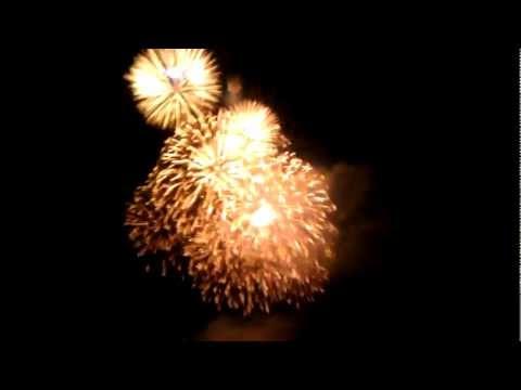 Dnepropetrovsk celebrates City Day. Fireworks (video)