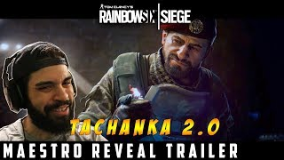 Rainbow Six Siege: Operation Para Bellum - Maestro Trailer Reaction/Breakdown
