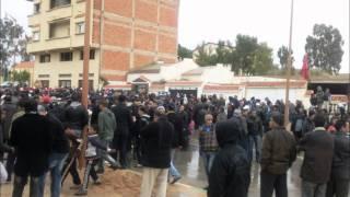 preview picture of video 'jerada  participation énorme au 20 fevrier 2011'