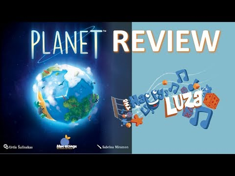 Dave Luza Rules and Review PLANET