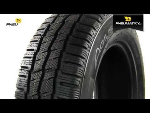 Youtube Michelin AGILIS ALPIN 205/75 R16 C 113/111 R Zimní