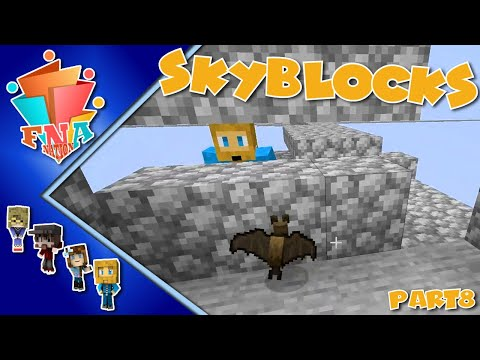 Bats and Sweet Attack Berries on Skyblocks - Ep 8