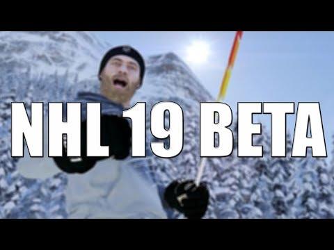 NHL 19 BETA - POHLED NA NOVÝ MÓD!