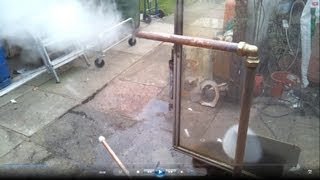Simple Diy Rocket Stove Producing Hot Water Food And Charcoal Part 2 You