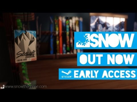 SNOW - Early Access Release Trailer thumbnail
