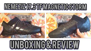 Adidas Nemeziz 17.3 Magnetic Storm Tango TF - Unboxing & Review