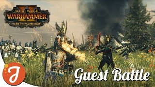 Duel Of The Century feat. Ninjahund | Blessed Dread Vs High Elves | Total War: WARHAMMER II