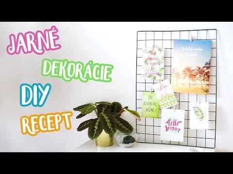 Jarné dekorácie, DIY a recept   Patra Bene