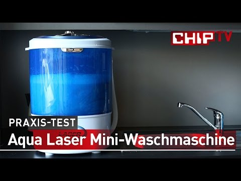 Aqua Laser Mini-Waschmaschine - Review deutsch | CHIP