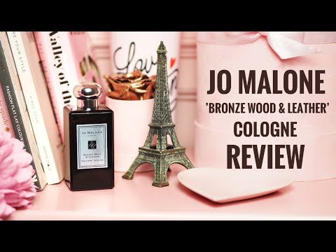 Jo Malone London: Bronze Wood & Leather Perfume Cologne! Review Of The New Cologne Intense