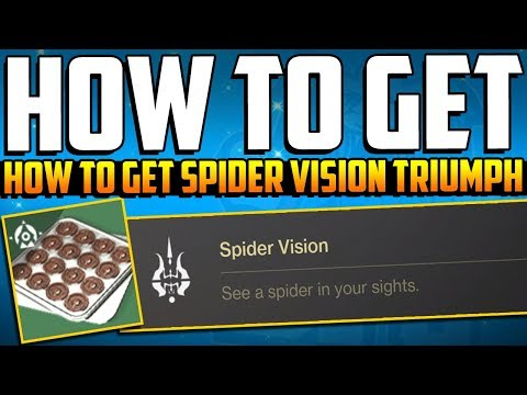 Destiny 2 - How To Get SECRET TRIUMPH - SPIDER VISION - Festival Of The Lost Hidden Triumph