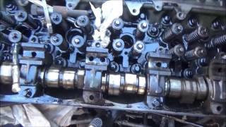 Detroit series 60 in frame rebuild (part 4) camshaft removal
